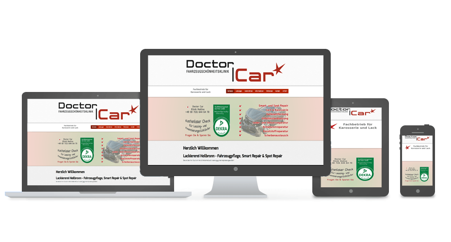 Doctor Car 24 Referenz by Web N App Programming