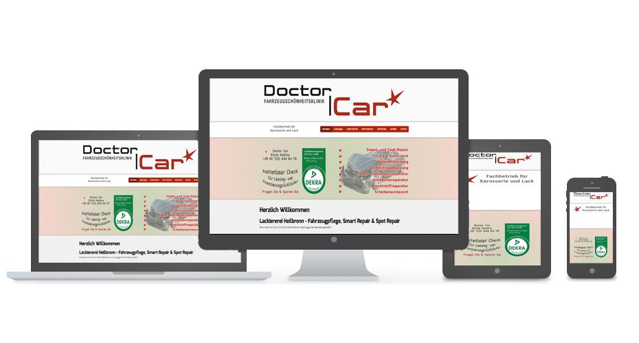 Doctor Car 24 - Referenz by Web N App Programming