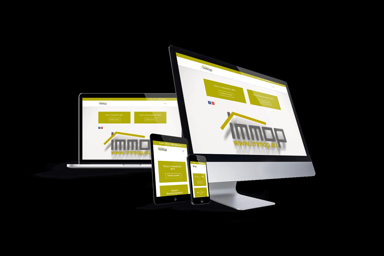 immop GmbH - Referenz by Web N App Programming