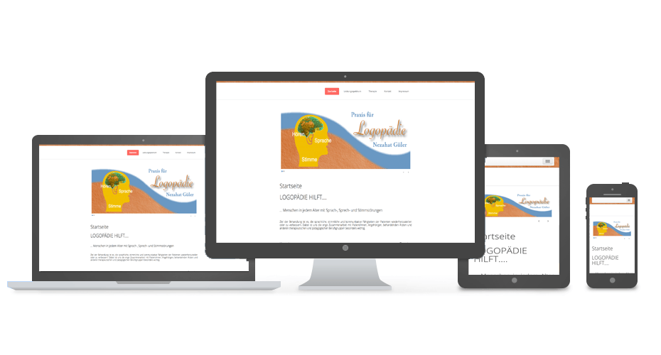 Logopädin NSU - Referenz by Web N App Programming