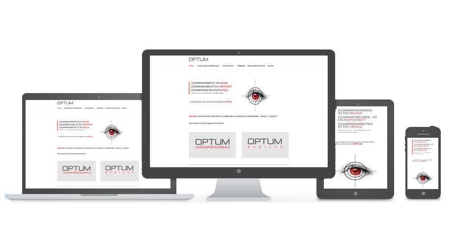 OPTUM GmbH - Referenz by Web N App Programming