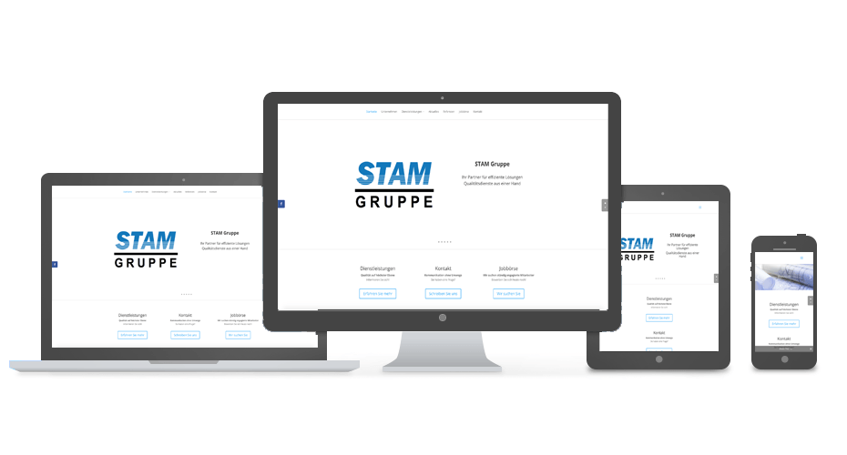 Stam Gruppe - Referenz by Web N App Programming