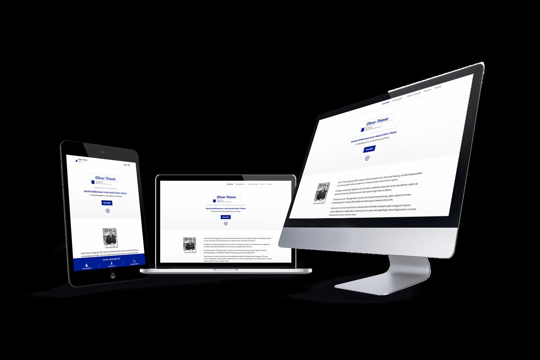 Steuerberater Oliver Thiemt - Referenz by Web N App Programming