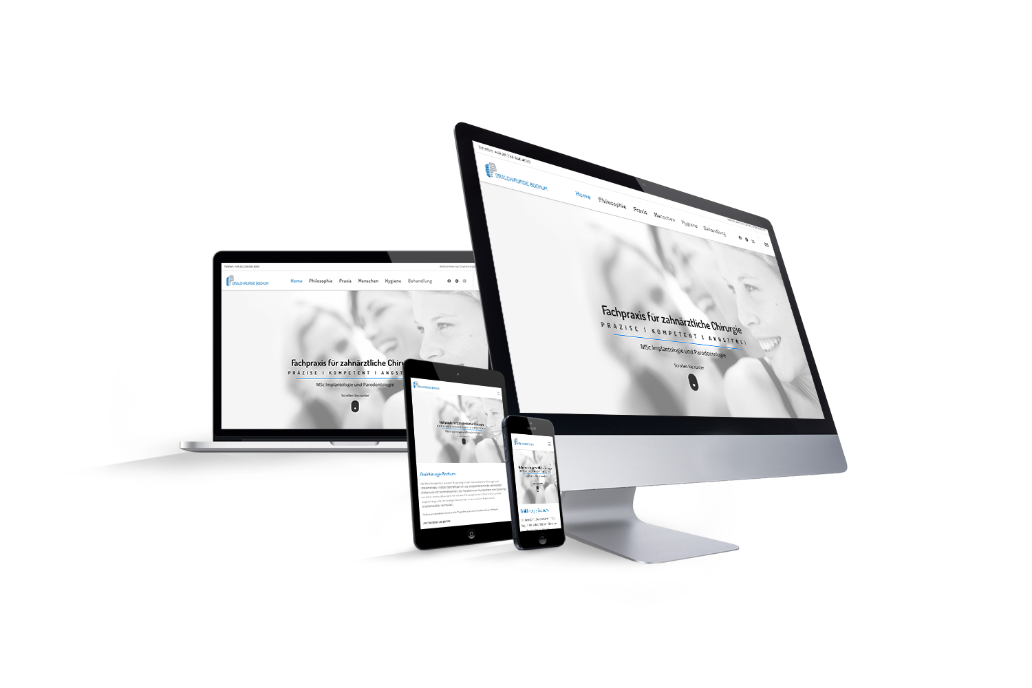 Oralchirurgie Bochum - Reference by Web N App Programming