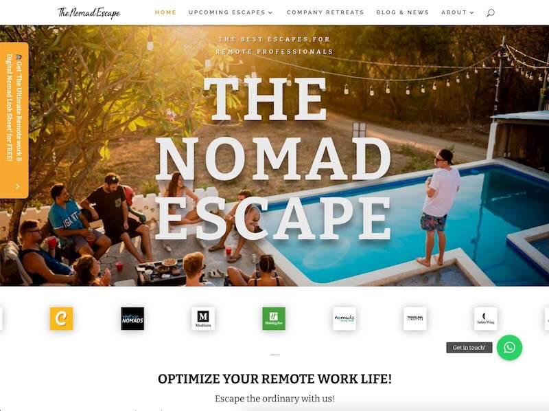 the nomad escape
