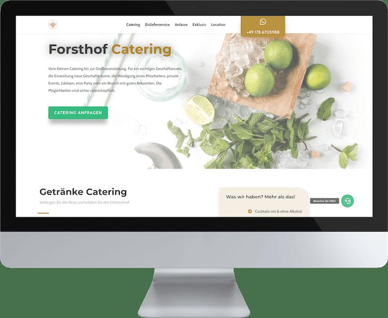 forsthof catering desktop