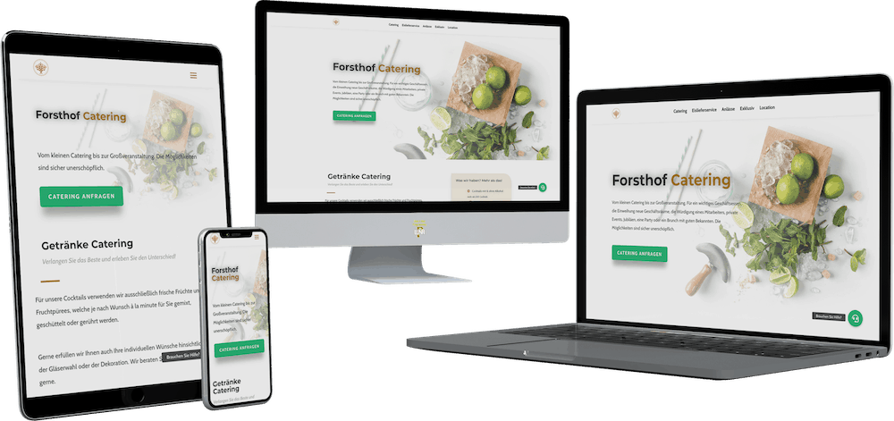 forsthof catering responsive