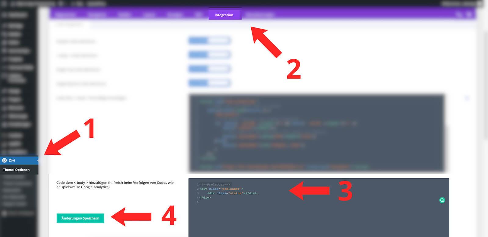 css code einfuegen